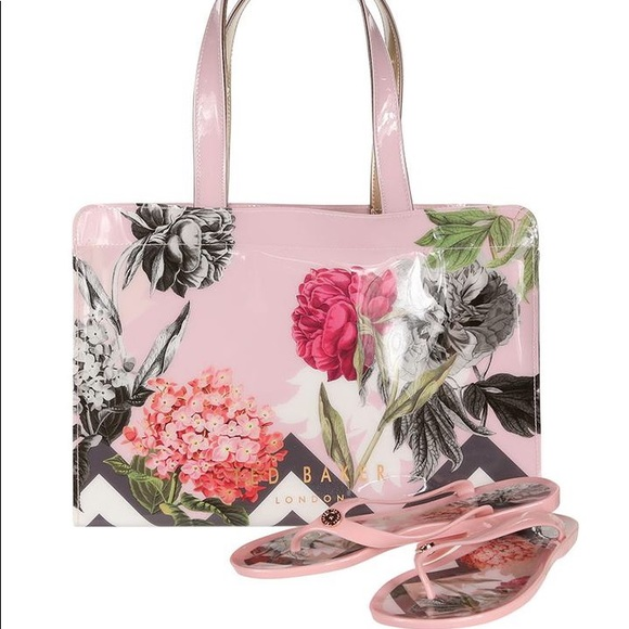 c6ad4bc4a MABLE PALACE GARDENS | Tote and Icon Flip Flops. Boutique. Ted Baker London
